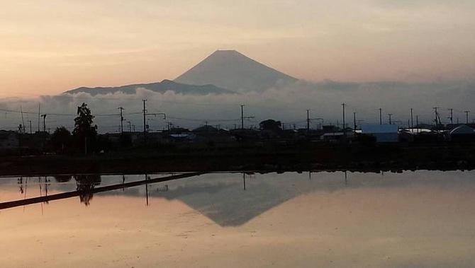 夕方富士山.JPG