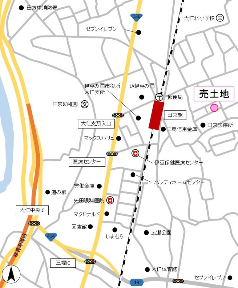 売土地 伊豆の国市田京1,700万円
